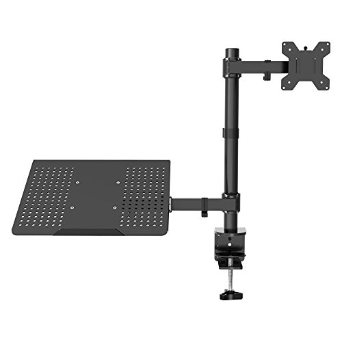 1homefurnit Laptop Notebook Stand Monitor Arm Desk C-Clamp M