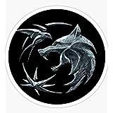"5/"" The Witcher Medallion Emblem Die-Cut Vinyl Decal Sticker  19 Colors Available"