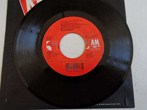 - Bryan Adams 45 RPM Can't Stop This Thing We Started / (Everything I Do) I Do It For You