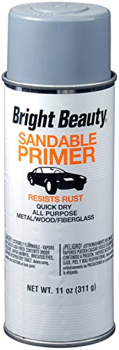 Bright Beauty BBP399 Gray Sandable Primer Sealer - 11 oz. Enamel Primer Sealer