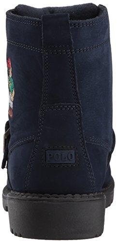 Polo Ralph Lauren Barna Ranger Hi Ii Mote Boot Navy Nubuck