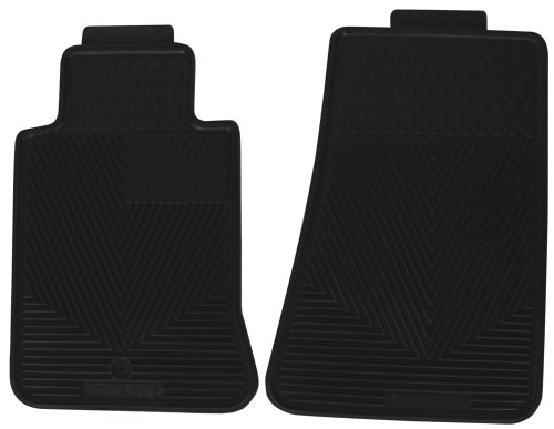 Highland 4603000 All-Weather Black Front Seat Floor Mat by Highland