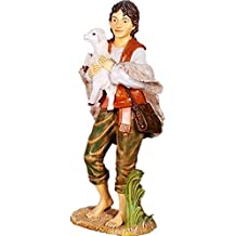 Nativity - Shepherd Boy Statue - Life Size Prop Christmas Resin Decor Statue