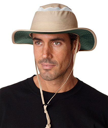 Adams Outback Hat - Khaki - XL by Adam's Headwear