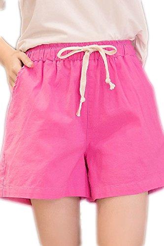 Haute Femmes Pantalon Taille Lin Pour En À qwH4Z7