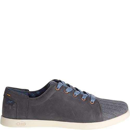 Chaco Women's Ionia LACE Leather Hiking Shoe, Denim, 09.0 M ()
