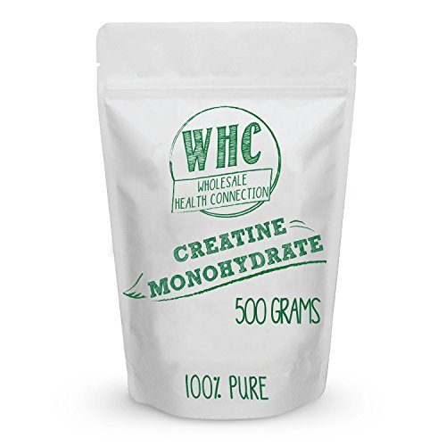 Micronized Creatine Monohydrate Powder 500g (167 Servings) | Workout Enhancer | Builds Lean Muscle | Increase Mental And Physical Energy | Reduces Fatigue