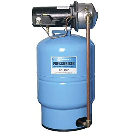 Exceptional Amtrol (RP 10HP) 10 GPM Water Pressure Booster Whole House System  Pressuriser