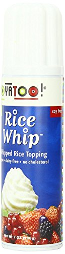 Soyatoo Rice Whip Can, 7 Ounce