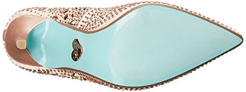 by Johnson Women's Dress Elsa Satin Sb Betsey Blush Pump Blue OHEUwxpqC