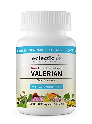 Valerian officinalis 425mg Freeze-Dried Organic Eclectic Institute 90 VCaps For Sale