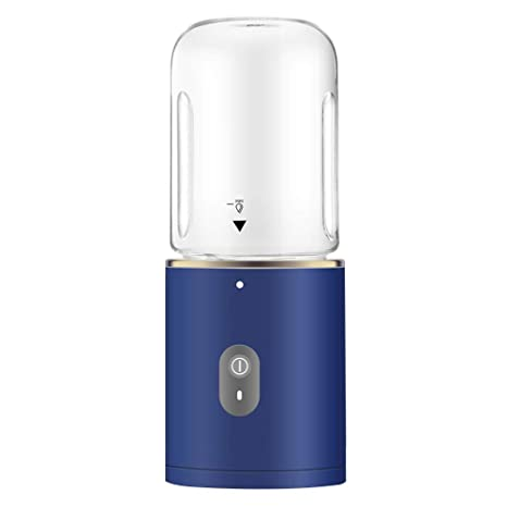 Juicer Exprimidor Portátil Pequeño Pequeño Exprimidor Eléctrico Multifunción Automático del Hogar Portátil,Blue