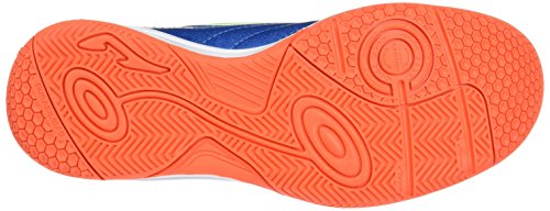 Joma Toledo- Zapatilla de futbol sala junior, color royal y fluor, talla 35,5