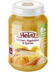 Heinz Chicken, Vegetables and Quinoa Jar,170g