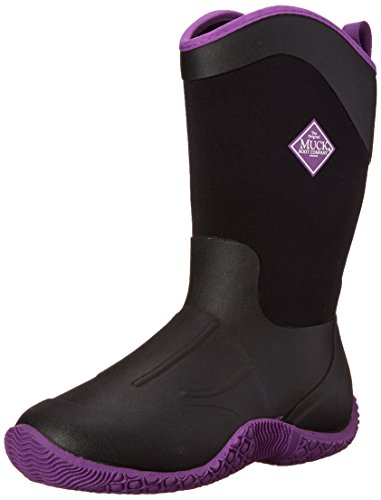 Stivaletti Tack Wellington Muck Boot - Black/Purple