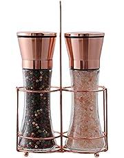 Salt and Pepper Grinder Set (Copper)