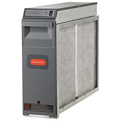 "Honeywell F300E1027 Electronic Air Cleaner, 20"" x 20"" with Performance Enhancing Post-Filter"
