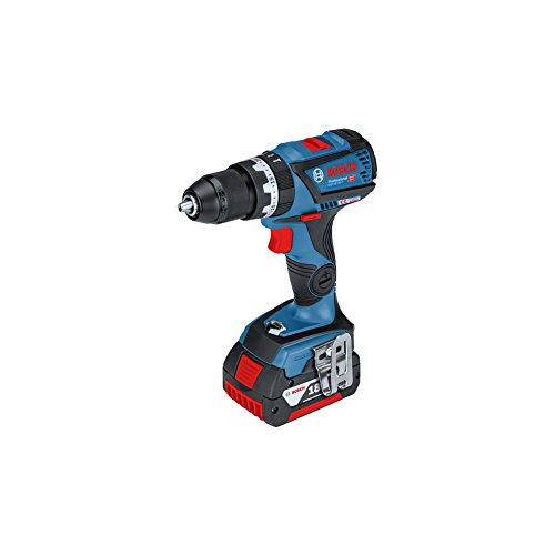 Bosch GSB 18V-60 C Professional Cordless Combi Dril Cordless Body + 5.0Ah Battery + Case + Charger(220V Charger Europe type C plug)