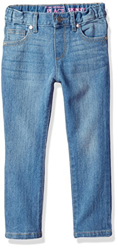The Children's Place Baby Girls Skinny Jeans, Trueindigo 9502, 4T by The Children's Place