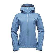 Black Diamond Stormline Stretch Rain Shell Jacket - Women's Blue Steel 2X-Small