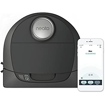 Neato Botvac D5 Connected Navigating Robot Vacuum, Pet & Allergy, Works with Alexa
