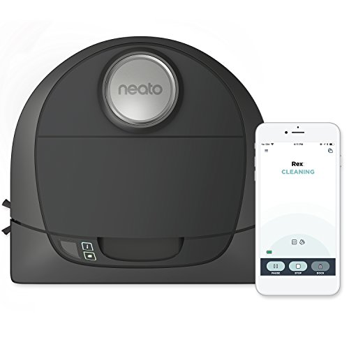 Neato Botvac D5 Connected Navigating Robot Vacuum, Pet & Allergy by Neato Robotics
