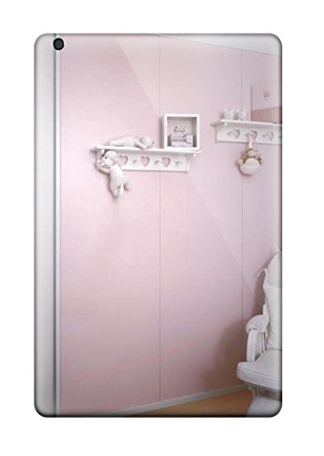 new-girl8217s-bedroom-with-pink-wall-paneling-white-shelving-and-white-glider-rocker-tpu-case-cover-
