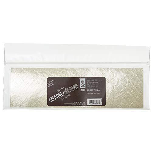 - Almondena Premium Gold Gelatin Sheets - 20 Sheets | Gold Grade, 200 Bloom Strength