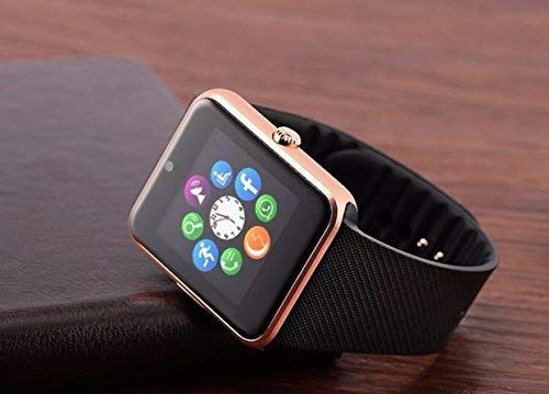 A1 Smart Watch Bluetooth Camera Built in (Gold)