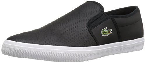 Lacoste Men's Gazon BL 1, Black, 10.5 M US