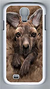 Baby Kangaroo PC Case Cover for Samsung Galaxy S4 I9500 White