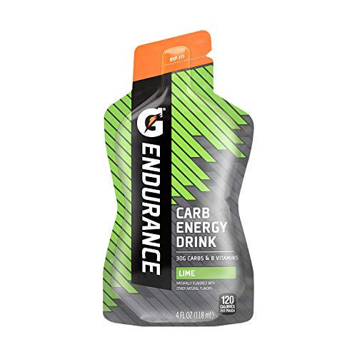 Hammer Sport Drink Heed (Gatorade Endurance Carb Energy Drink, Lime, 4 Ounces (Pack of 10))