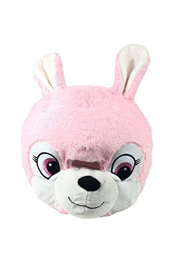 Mascot Head (Pink Bunny) -