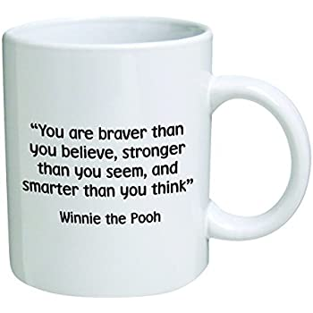Amazon.com: Motivational Quote Novelty Coffee Mug: Kitchen ...
