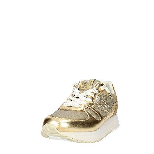 Lotto Leggenda, Donna, Tokyo Wedge W, Pelle / Mesh, Sneakers, Giallo, 37 EU