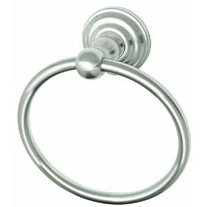 Design House 538355 Calisto Towel Ring, Satin Nickel