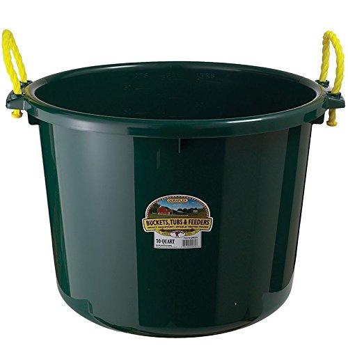 LITTLE GIANT Green PSB70 GRN. MUCK Utility Bucket, 70 Quart ()
