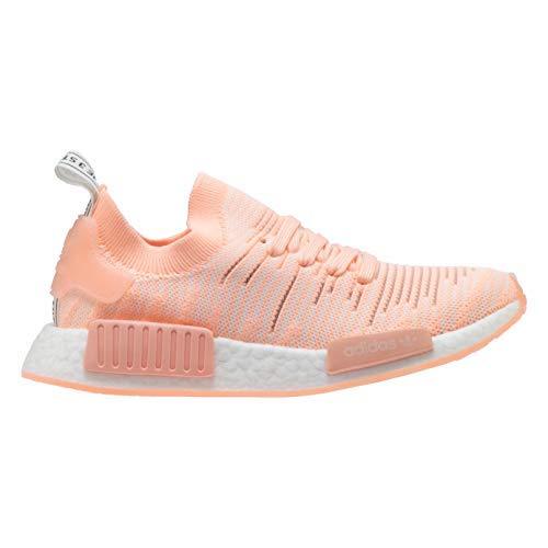 competitive price 6e636 40f7c Galleon - Adidas Originals Women s NMD R1 Pink Clear Orange Clear Orange Cloud  White 6 B US B (M)