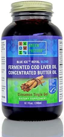 BLUE ICE™ Royal Butter Oil/Fermented Cod Liver Oil Blend-Cinnamon Tingle