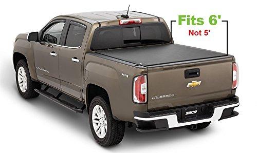 Tonno Pro Tonno Fold 42-103 TRI-FOLD Truck Bed Tonneau Cover 2004-2012 Chevrolet Colorado/GMC Canyon   Fits 6' Bed