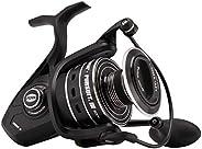 PENN Pursuit III 8000C Spinning Fishing Reel, Black/Silver, 8000