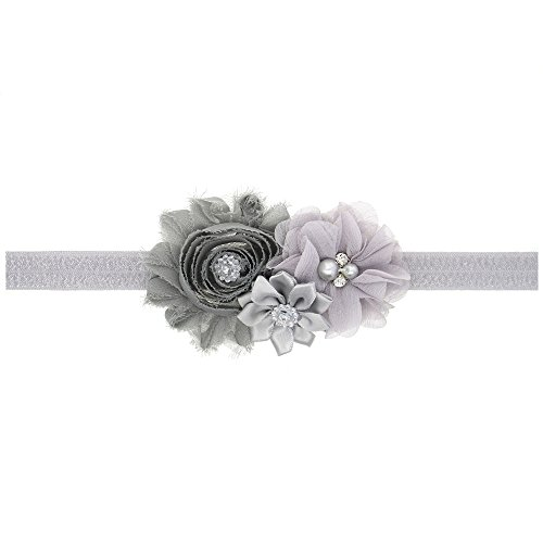 LD DRESS Lovely Baby Girl Headbands Rhinestone Flower