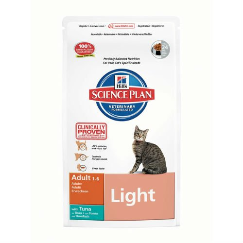 Hill's Science Plan Feline Adult Light with Tuna 5kg