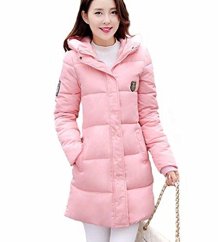 À Manteau L Coton Taille Rose Montagne Capushe Rembouré Adrienne L hiver  Mode Veste 2016 Doudoune Femme 0qn1FPw16 e743a0ec5e3