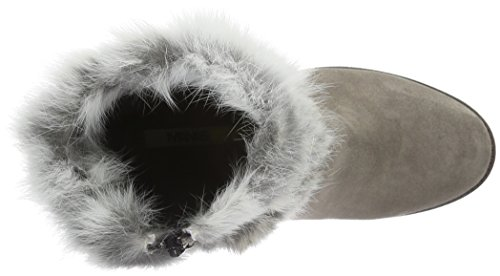 Manas St.Moritz, Women's Warm-Lined Short-Shaft Boots and Bootees Grey (Fumo)