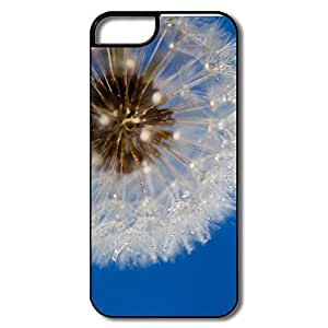 IPhone 5S Cases, Dandelion White/black Case For IPhone 5S