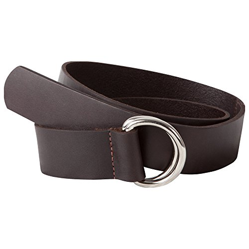 Mountain Khakis Leather - Mountain Khakis Men's Leather D Ring Belt, Brown, X-Large (40-43 -Inch)
