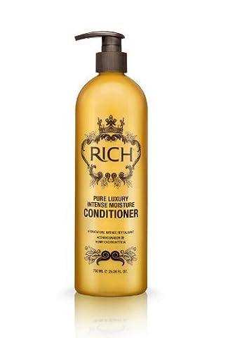 RICH Hair Care Pure Luxury Intense Moisture Conditioner, 25.36 (Rich Cura Conditioner)