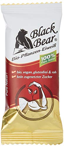 Black Bear Bio Pflanzen Eiweiß Riegel Pult Dispenser, A´40G