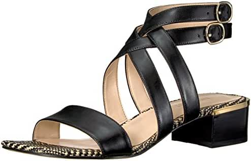 Nine West Women's Yesta Leather Dress Sandal